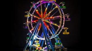 Lego Ferris Wheel 10247 LED lighting Kit Lego LED Lights