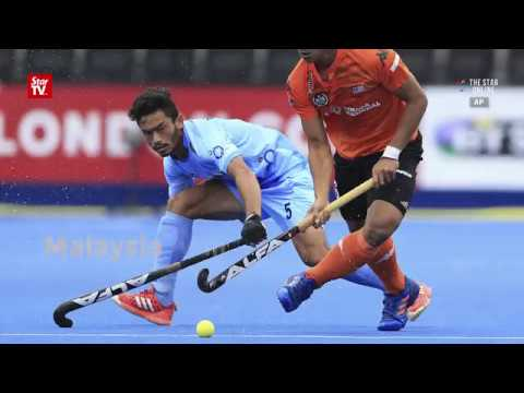 Malaysia score upset win over India in World Hockey League Semi-Finals