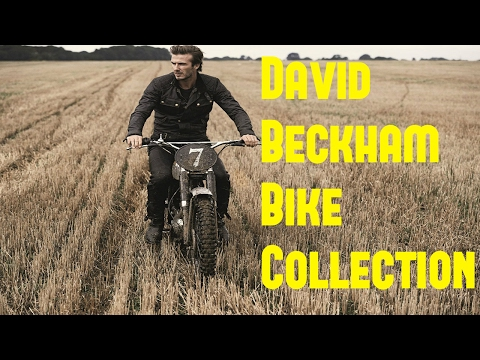 David Beckham Bike Collection - 2017 | David Beckham Bikes | David Beckham Net Worth - 2017