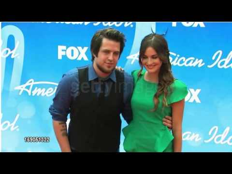 Lee DeWyze and Jonna Walsh Arrive at the Season 12 American Idol Finale
