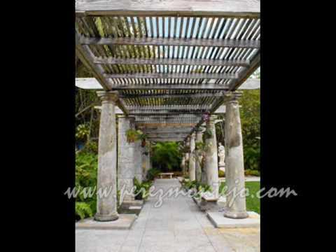 Jardines palacio de vizcaya miami florida usa parte 2 for Florida v jardines