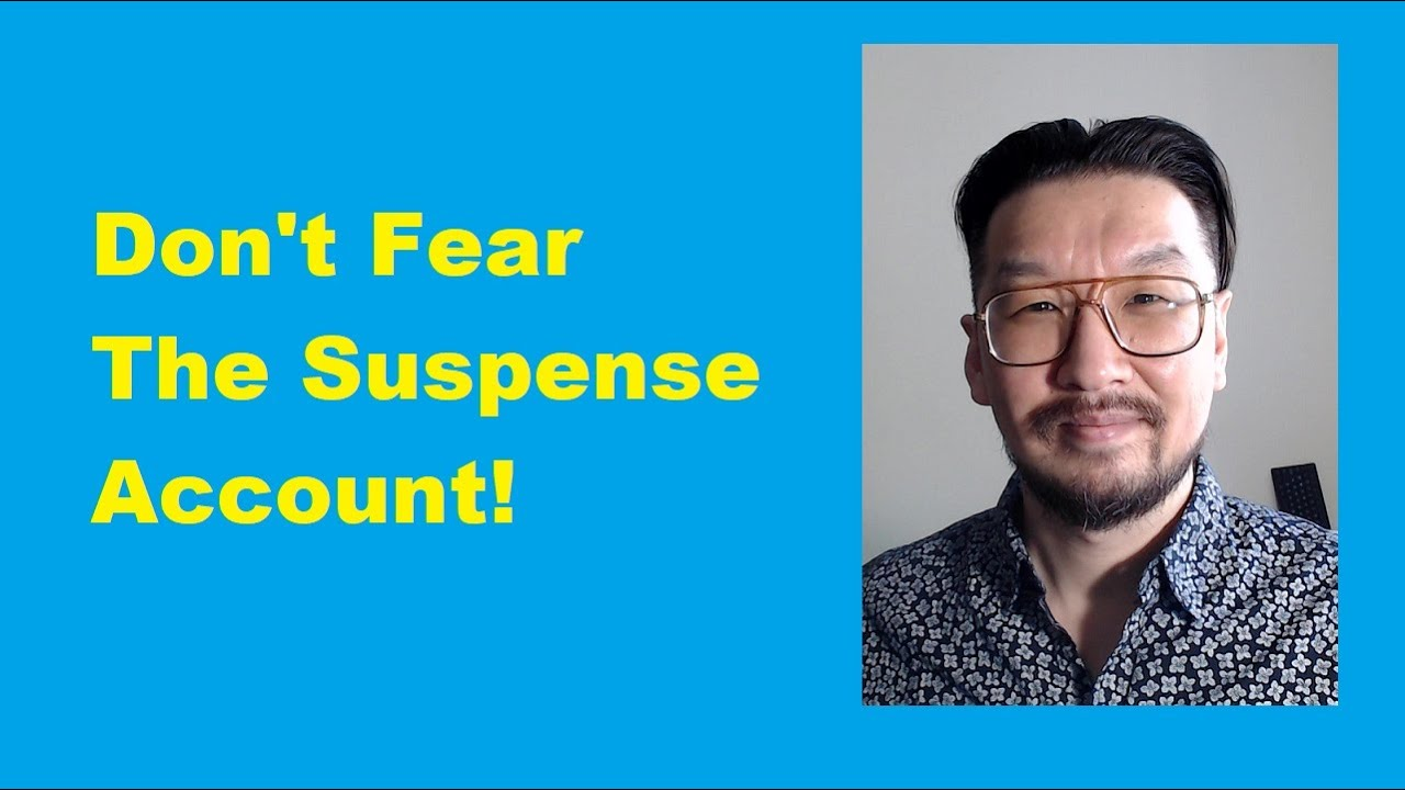 Suspense Account for Credit Card Payments