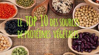 Le top 10 des protéines végétales