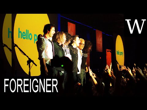 FOREIGNER (band) - WikiVidi Documentary