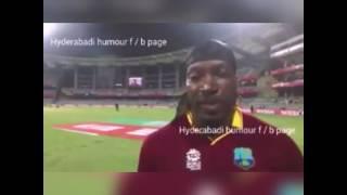 Chris Gayle marathi dubbed atul navghire
