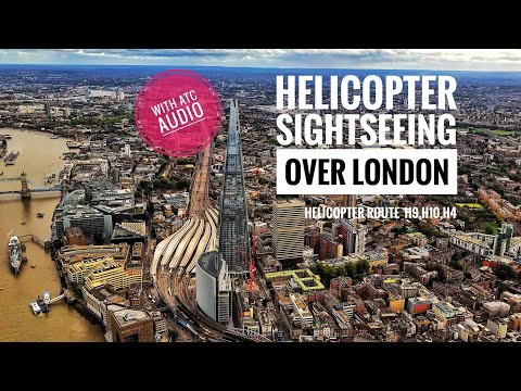 London Helicopter Routes- H9,10,4