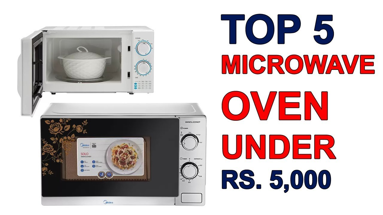 Top 5 Best Microwave Oven Under Rs 5 000 In India Youtube