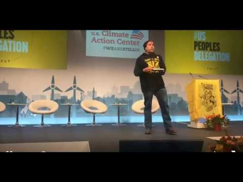 It Takes Roots Peoples Delegation Speak Out at #COP23