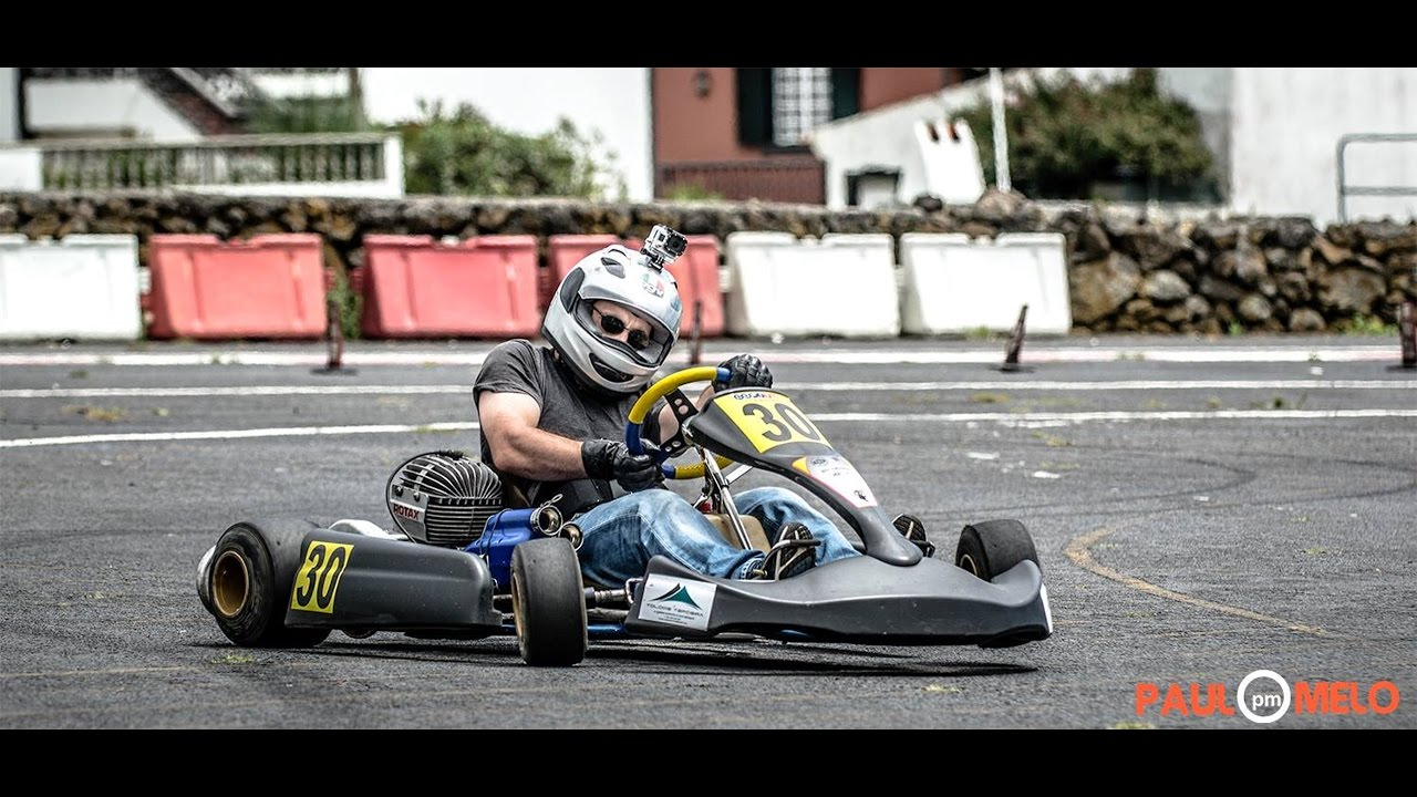 Go Kart 100cc 2 Stroke Engine Free Practice With Rotax 100cc