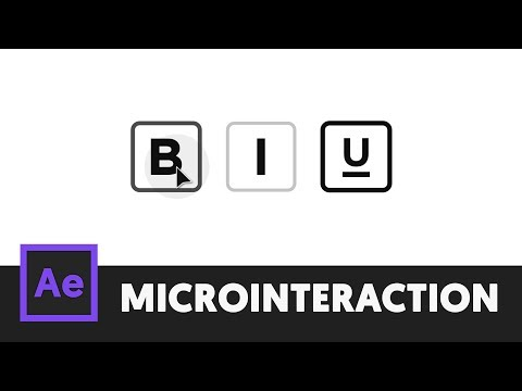 Text Style Animation - After Effects Tutorial (Microinteraction 1)