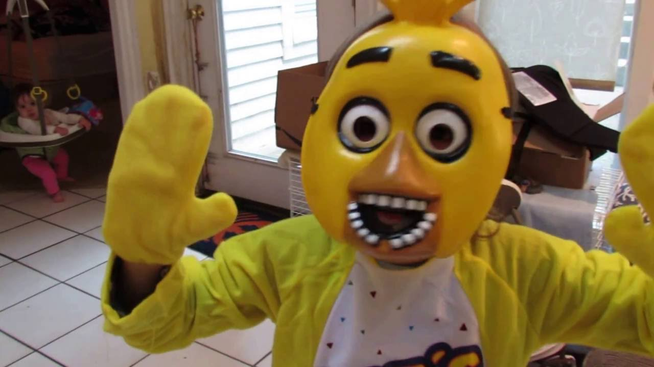 CHICA Child Costume| UNBOXING Video Review| HALLOWEEN| FNAF| Five Nights at Freddyu0027s| OskieWhiskie - YouTube  sc 1 st  YouTube & CHICA Child Costume| UNBOXING Video Review| HALLOWEEN| FNAF| Five ...