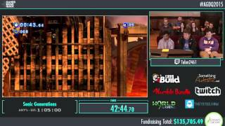 Awesome Games Done Quick 2015 - Part 24 - Sonic Generations by Talon2461