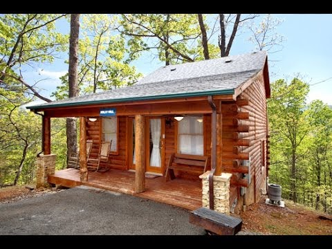 Sky harbor pigeon forge tn for sale 2 bedroom 3 bath Log cabin for two