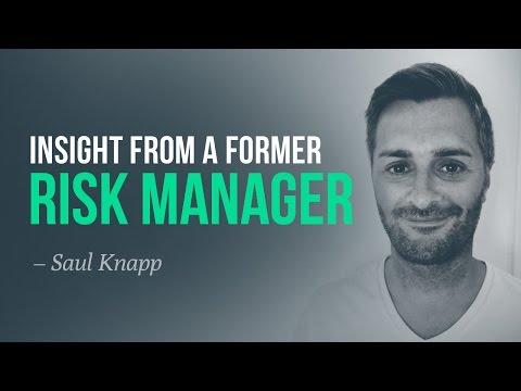 Insight from a former-risk manager of 120+ prop traders, and spread trading