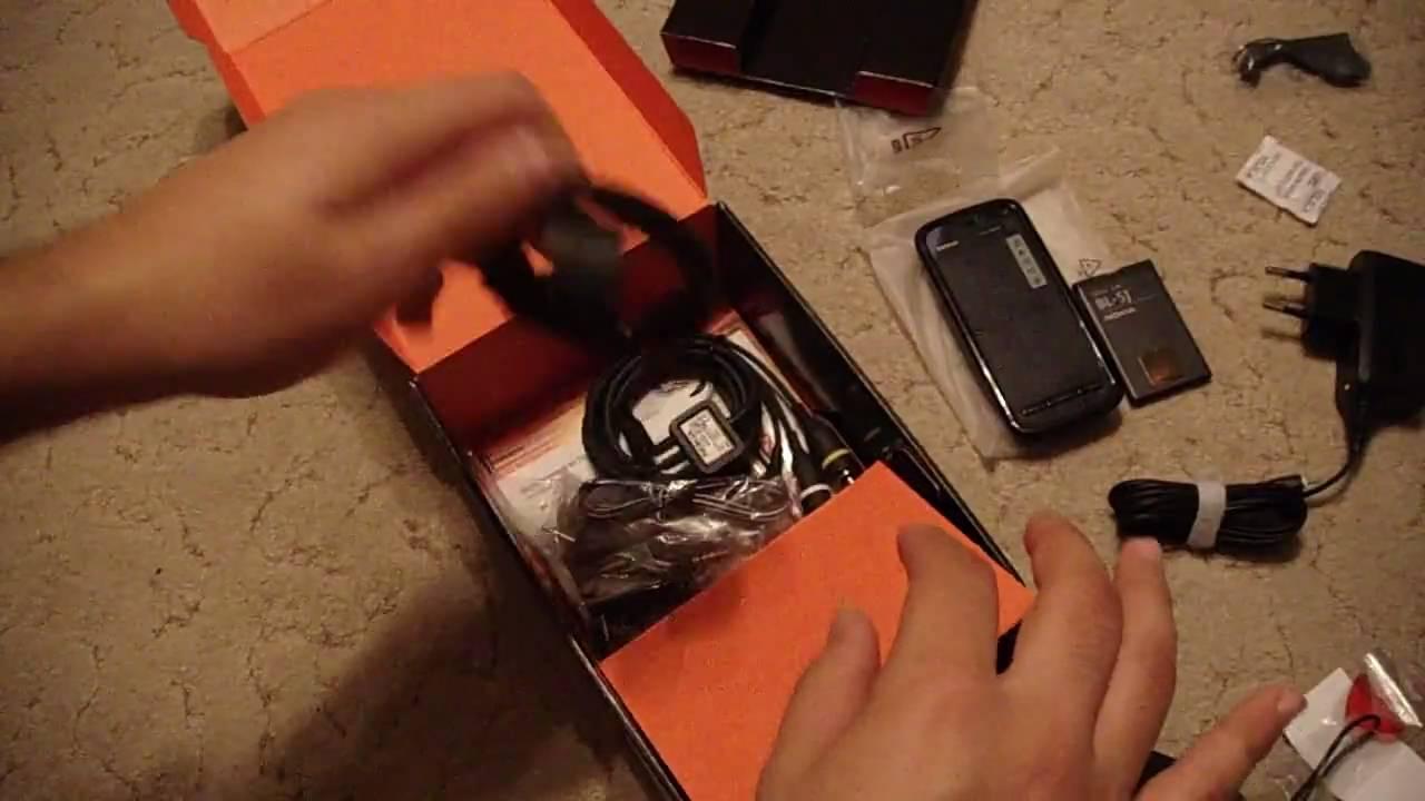Nokia 5800 XpressMusic - как разобрать телефон, из чего он состоит .