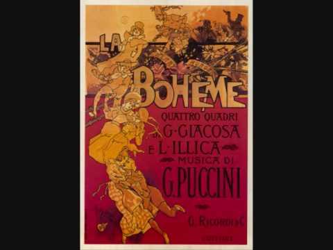 Quando Me N´vò. La Bohème. Giacomo Puccini.