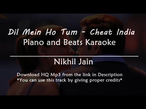 dil-mein-ho-tum---cheat-india-|-piano-and-beats-karaoke-|-best-karaoke-with-lyrics