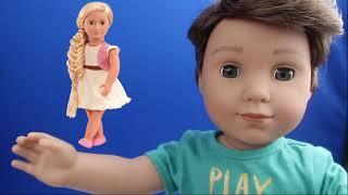 Sürpriz Oyuncak Bebek Our Generation Uzun Saçlı Kuaförcülük Oyun Seti Çekilişi !! Bidünya Oyuncak