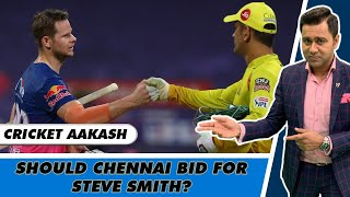 CHENNAI to BID for STEVE SMITH? | Understanding CSK's 2021 Auction Strategy | Cricket Aakash