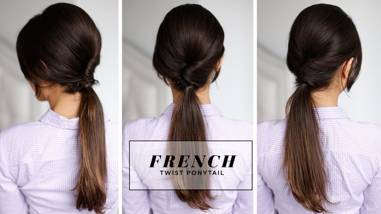 French Twist Ponytail YouTube