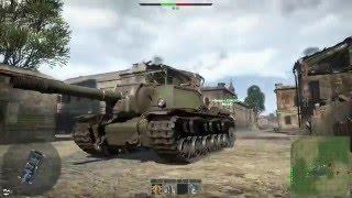 War Thunder (интересный бой)