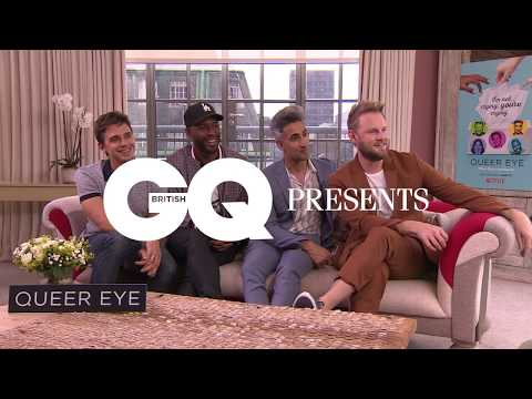 Jack Guinness quizzes the cast of Queer Eye | British GQ