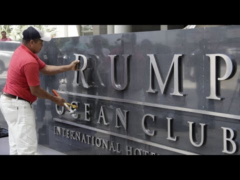 Trump's name removed from Panama hotel after legal fight