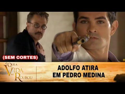 O Que a vida me Roubou - Adolfo atira em Pedro Medina (SEM CORTES)