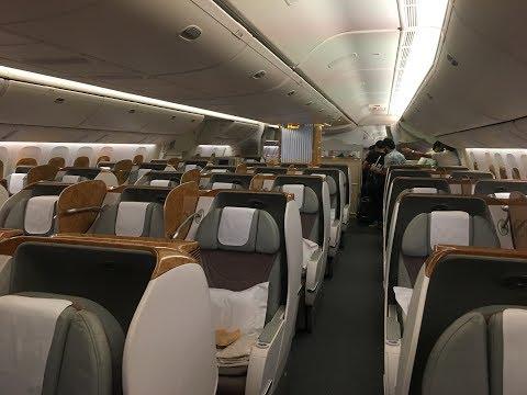 EMIRATES EK620 DUBAI - SIALKOT BUSINESS CLASS EXPERIENCE 777-300 ER
