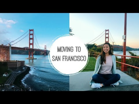 East-Coaster Moves to San Francisco | San Francisco Bay Area Moving Vlog Pt. 1