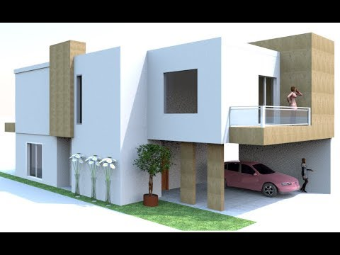 How to build modern house in sweet home 3d with floor plan for Sweet home 3d arredamento