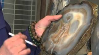 Agate carving master in NE China