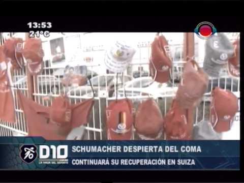 Schumacher despierta del coma 16-06-2014