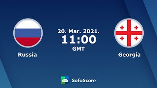 Rugby EU 21 Russia vs Georgia full game 2 half