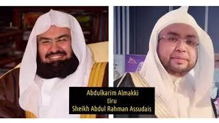 Abdulkarim Fatani Almakki tiru Sheikh Abdul Rahman Assudais