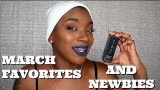 MARCH FAVORITES AND NEWBIES   BEAUTY BY KANDI