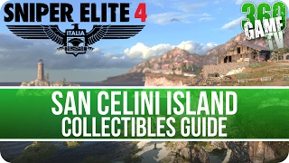 Sniper Elite 4 Mission 1 Collectibles Guide (Letters, Eagles, Documents, Reports, Rosters)