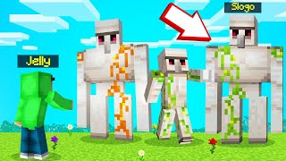 Which IRON GOLEM Is The REAL SLOGO?! (Minecraft Guess Who)