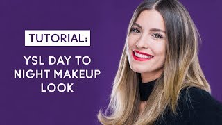YSL Day to Night Makeup Look