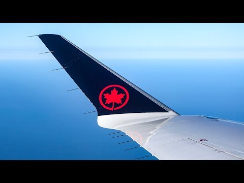 1,000,000 Miles!! Air Canada Express CRJ-700 SAN-YVR