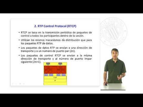 El protocolo RTP Control Protocol RTCP |  | UPV