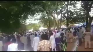 Bukola Saraki Stoned at Eid Praying Ground in Ilorin