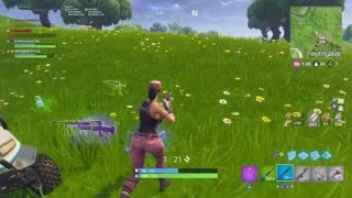 Fortnite battle royal (clip)