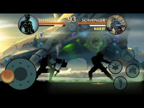 Shadow Fight 2 (MOD) Defeating Scavenger