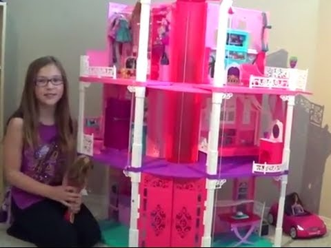 2013 Barbie Three Story Dreamhouse Youtube