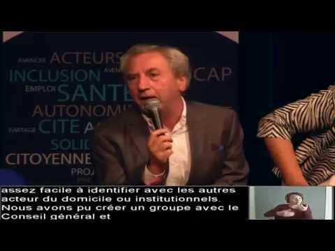 Club Handicap & Société - Colloque 23 Septembre 2014