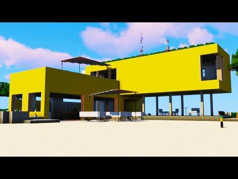 Minecraft Modern Beach Bar- Inspiration Series /w Keralis