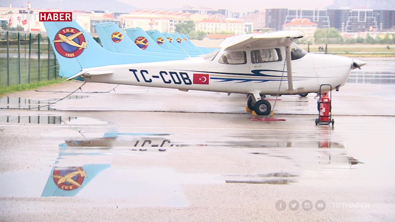 Uçuş süresini aşan uçaklar Ankara'da yeniden doğuyor