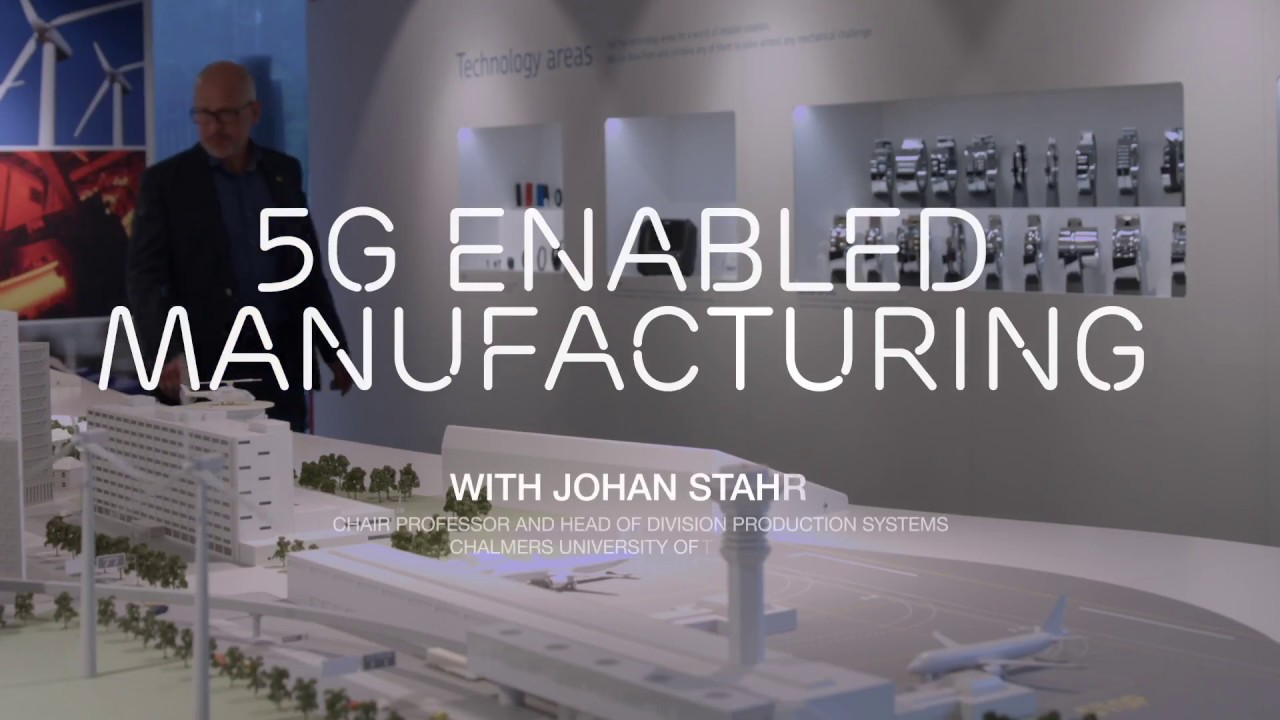 5G Enabled Manufacturing: The future of manufacturing – Ericsson