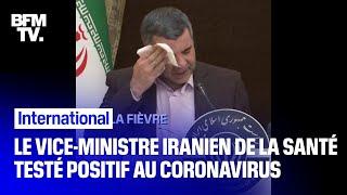 Le vice-ministre de la Santé iranien annonce sa contamination au coronavirus Resimi